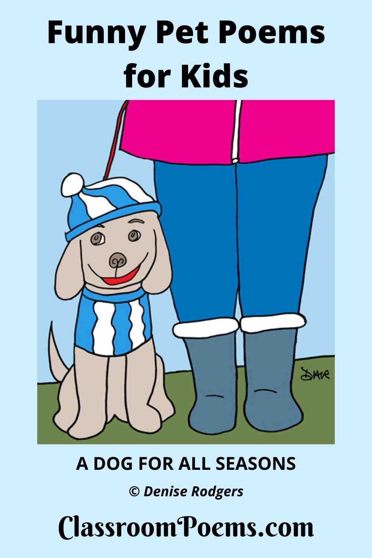Funny dog poem, funny pet poem,