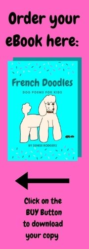 FRENCH DOODLES, a book of funny dog poems for kids on ClassroomPoems.com.