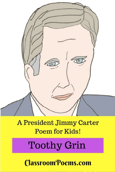 Jimmy Carter drawing