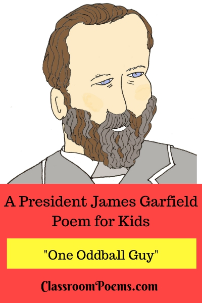 President Garfield drawing