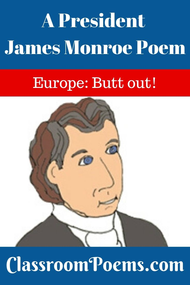 President James Monroe drawing