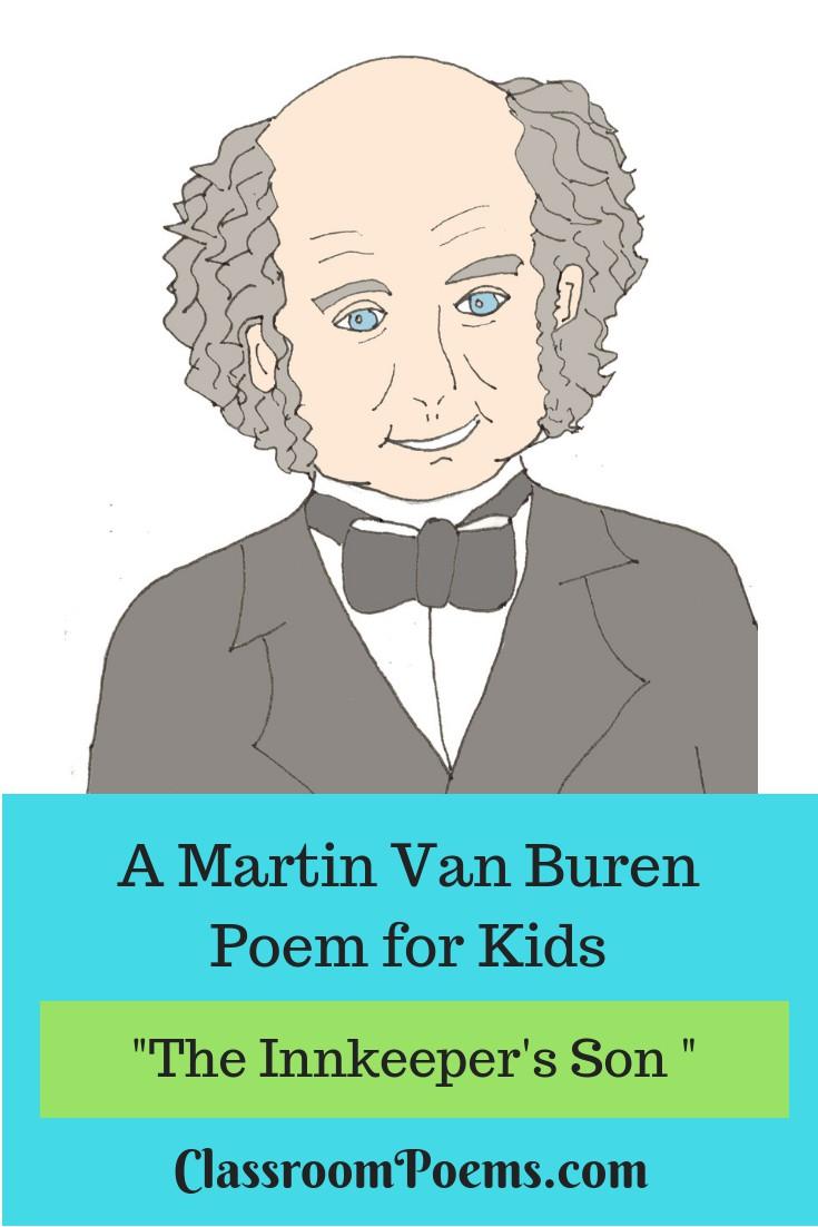 President Martin Van Buren poem