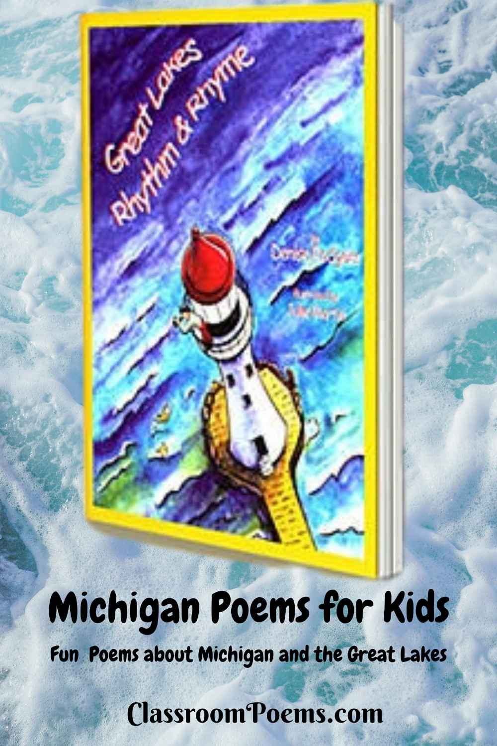 Funny Michigan Poems for Kids. Michigan lighthouse.
