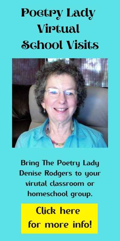 Poetry Lady Denise Rodgers Virtual School Visits