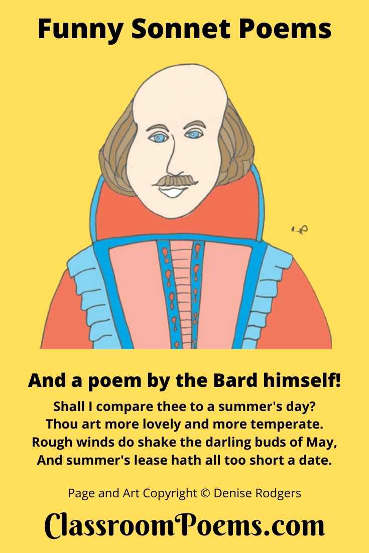 Shakespeare Sonnet #18 on ClassroomPoems.com.