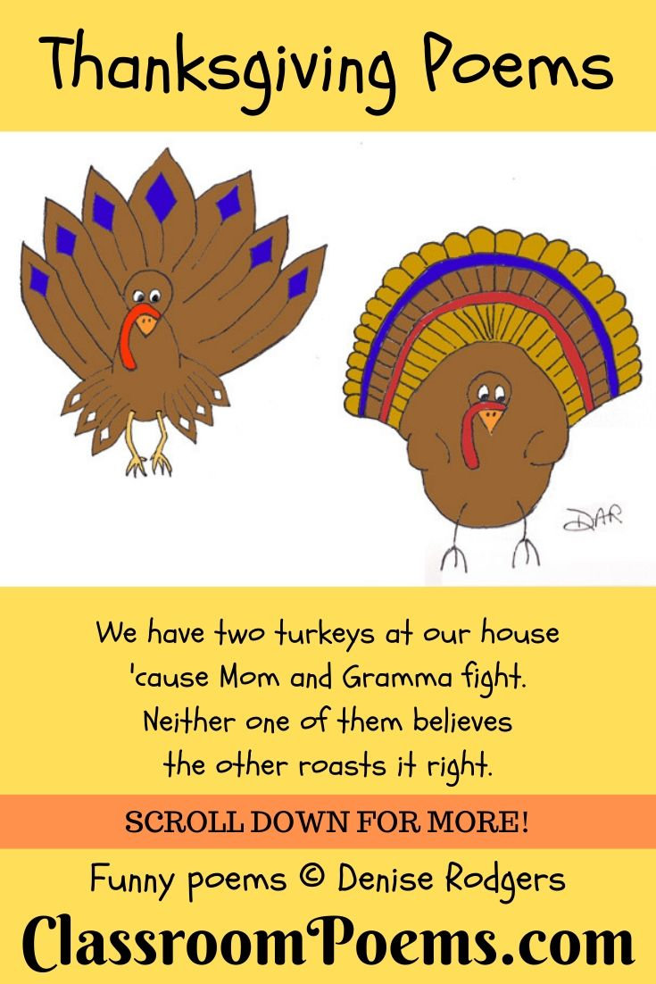 two turkeys cartoon