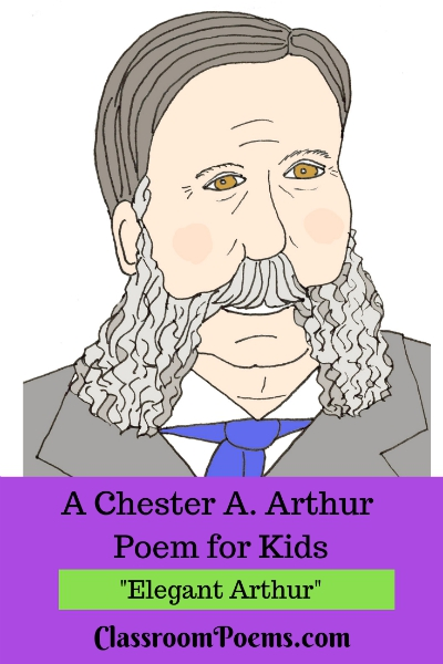 Chester Arthur drawing
