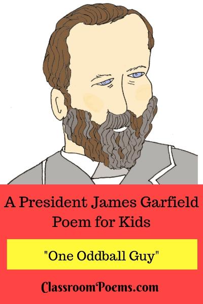 President Garfield drawing