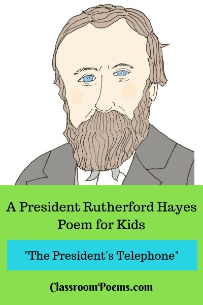Rutherford Hayes drawing