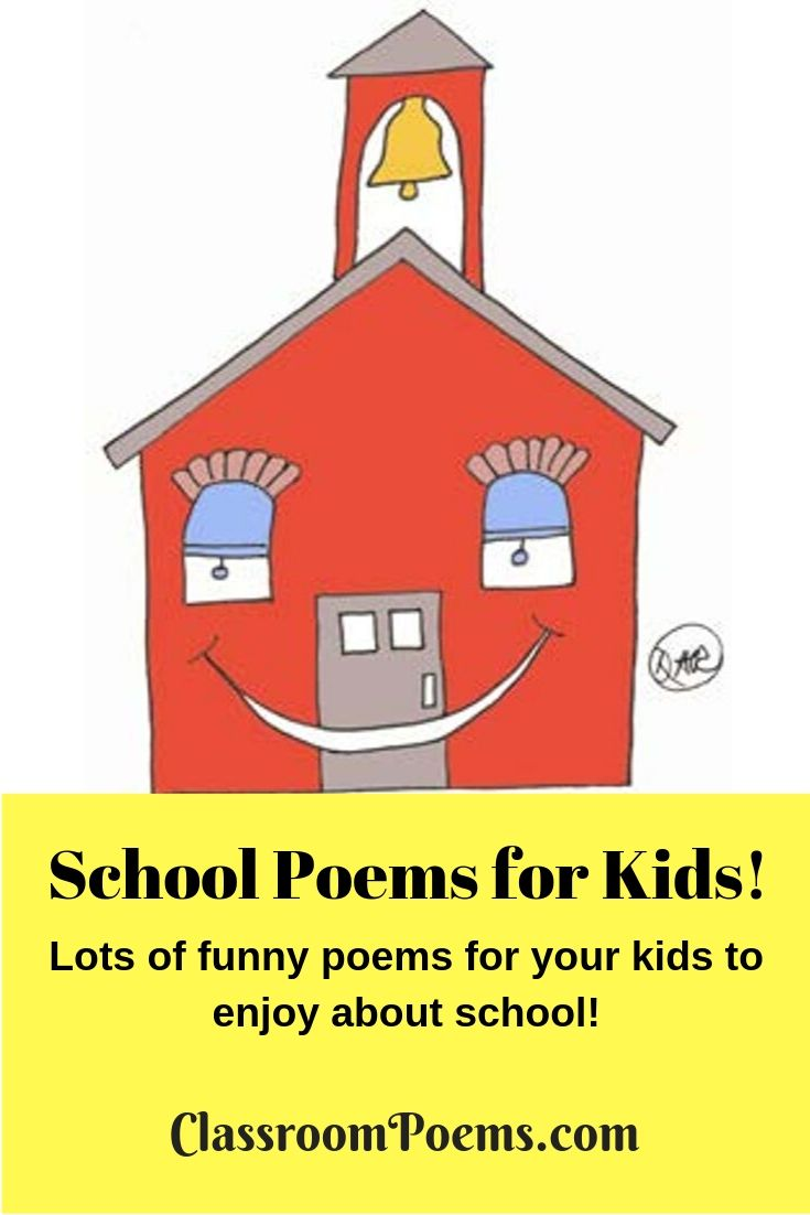 Funny School Poems on ClassroomPoems.com.