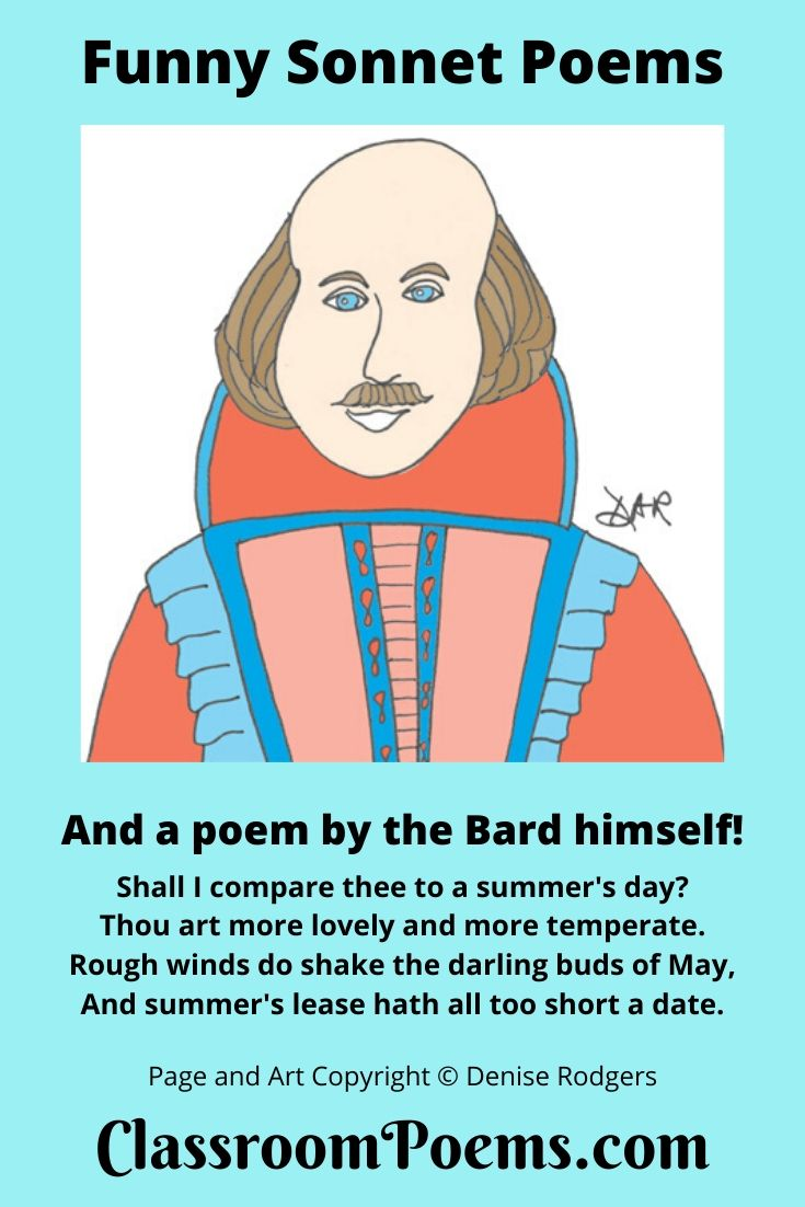 Shakespeare drawing