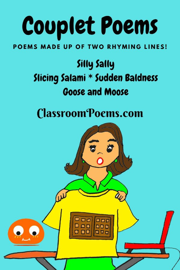 SILLY SALLY couplet poem by Denise Rodgers on ClassroomPoems.com.