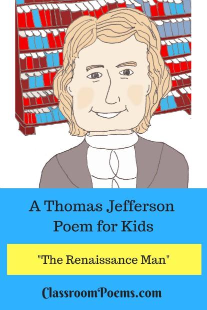 Thomas Jefferson drawing