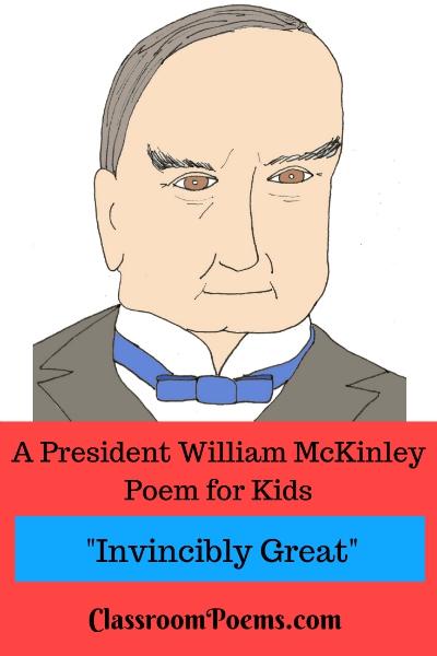 President William McKinley poem